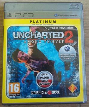 Gra PS3 Uncharted 2: AMONG THIEVES PL - Warszawa, Bemowo