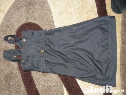 Śliczna elegancka sukienka jak nowa 140 146
