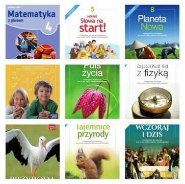 Testy klasa 4 5 6 7 8 polski historia przyroda biologia geografia Brainy A1+ chemia fizyka WOS EDB