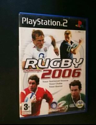 RUGBY 2006 UBISOFT PS2
