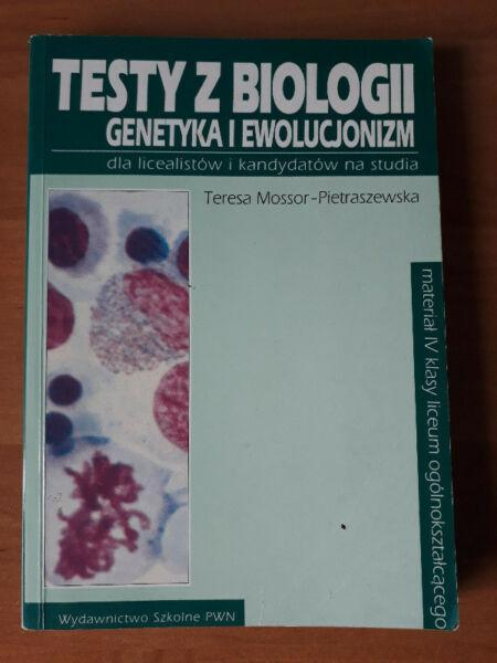 Książki do biologii; matura i konkursy biologiczne