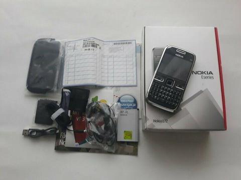 Nowa Oryginalna Nokia E72 b/locka kpl gw PLUS GSM